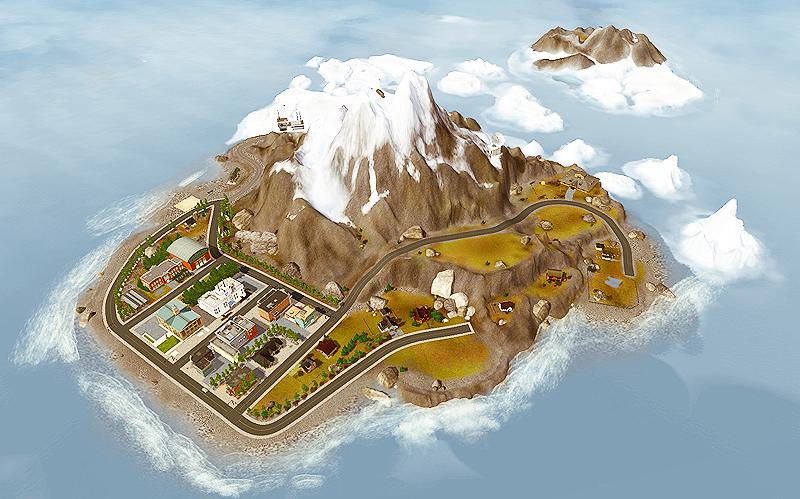 ของเสริม The Sims 3 เมือง The Sims 3