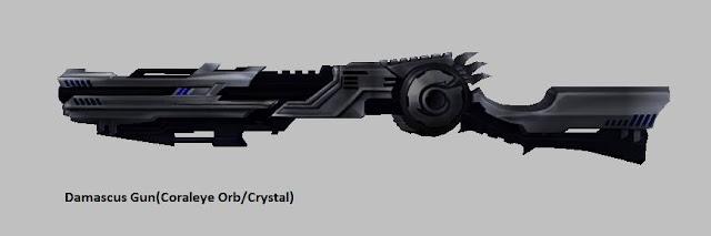 Damascus Gun [Coraleye Orb] Force Gunner