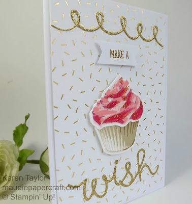 Stampin' Up! Sweet cupcake card