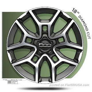 New 500X 18-inch Alloy Wheel
