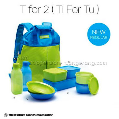 T for 2 (Ti For Tu) ~ Katalog Tupperware Promo Mei 2016