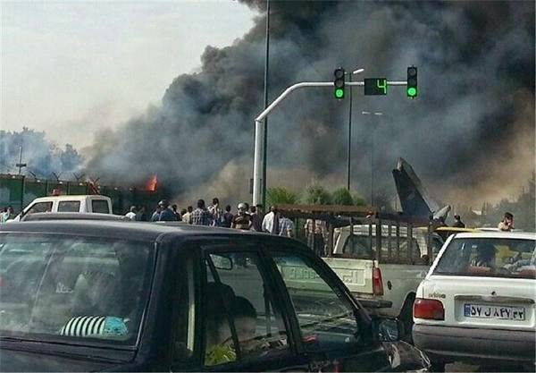 Passenger jet crashes near Tehran airport, over 40 feared dead