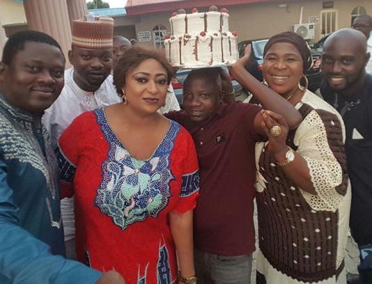 sanyeri birthday party