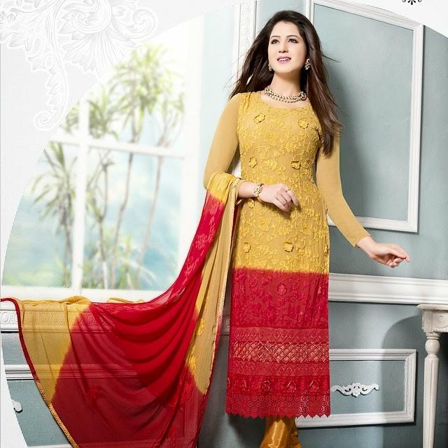 , Punjabi Actress Isha Rikhi Instagram pics in Salwar Kameez