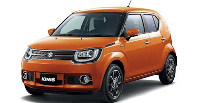 2017 Maruti Ignis Orange wallpaper