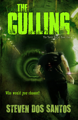 The Culling (The Torch Keeper #1) by Steven Dos Santos, Book Review, InToriLex, Netgalley