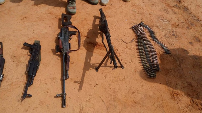 Graphic: Army arrests one, kills 4 Boko Haram terrorists in Yobe