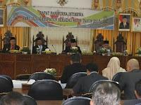 DPRD Rapat Istimewa Hari Jadi Sekadau Ke 14 Tahun