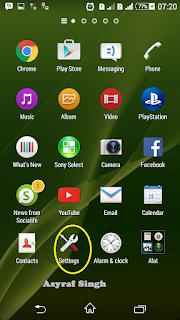 settings Update System / ROM MIUI On Xiaomi Mi 4c