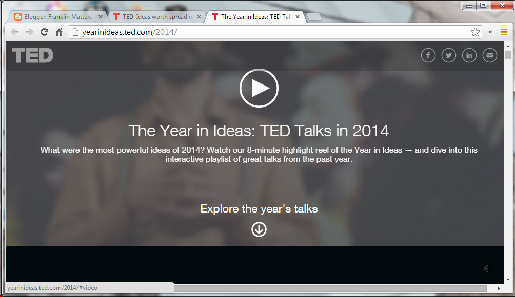 TED Talks: Ideas from 2014