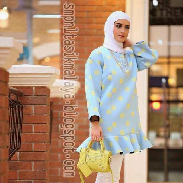 Trend Model Baju Muslim Wanita Simple Terbaru