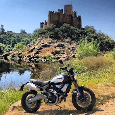 portugal estrada nacional 3 ribatejo ducati scramblerducati