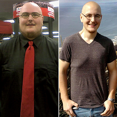 Ben Lost More Than 200 Pounds