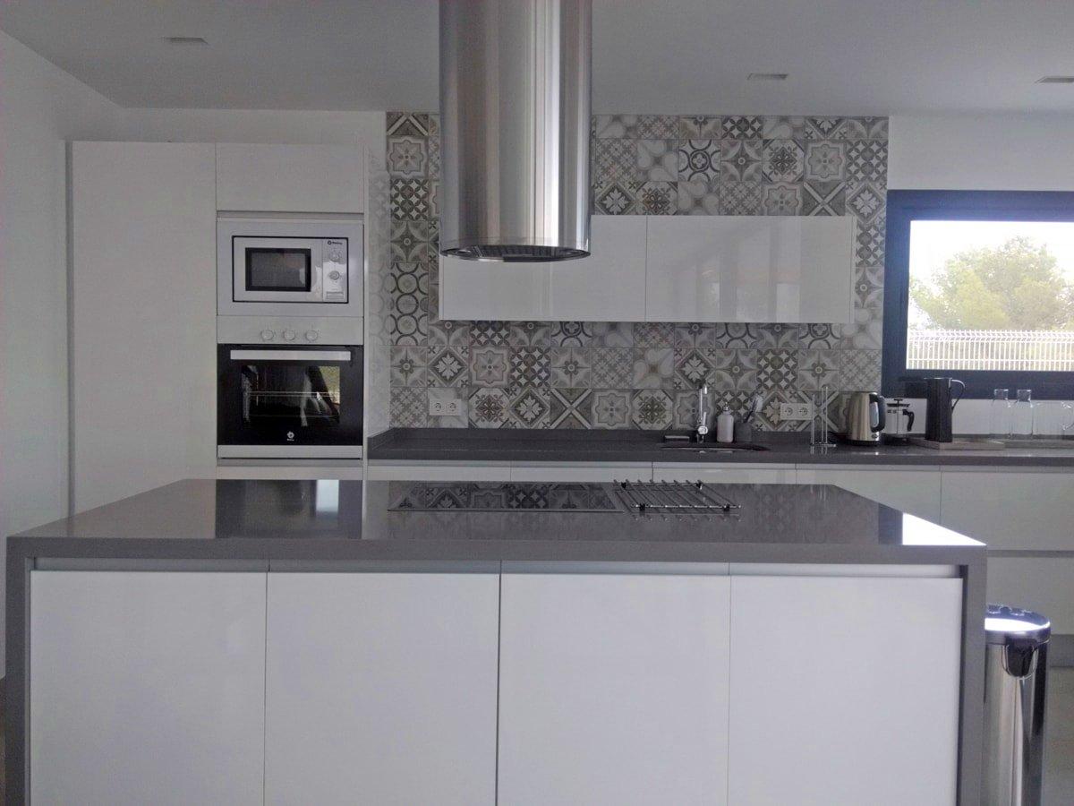 azulejos para cocinas blancas On azulejos para cocinas blancas modernas