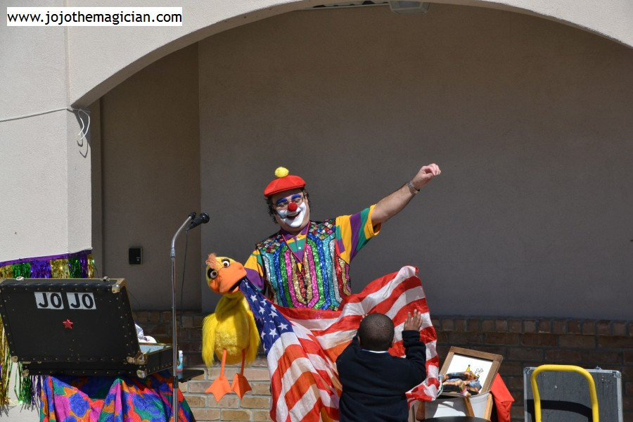 JoJo MagicClown, Magician in New Orleans Louisiana