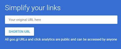 google-url-shorten-service