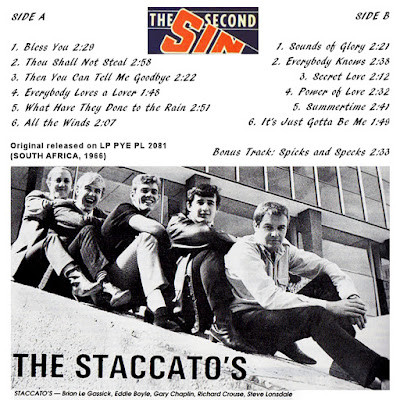The Staccatos - Second Sin (1966)