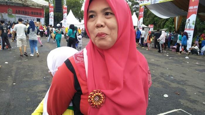 Zalda Minta Arinal - Nunik Perhatikan Sektor Pendidikan