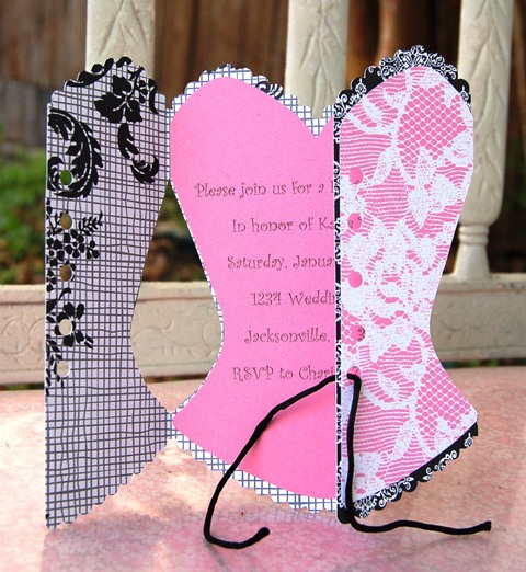 Bridal Shower Invitations Love Sweet