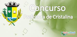 Concurso público em Cristalina Goiás 2016
