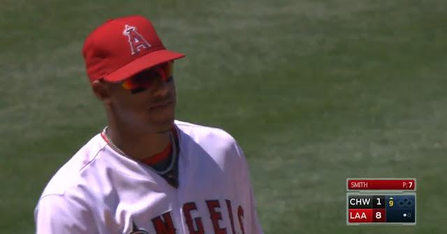 Yunel Escobar está bateando 322 y va tercero de los bateadores en la Liga Americana