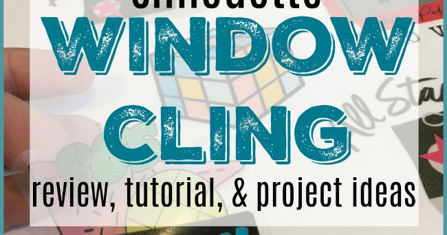 window cling kiss cut guide