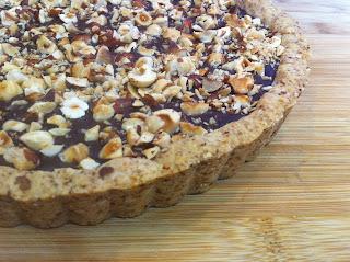 A for LIfestyle Vegan Gluten Free Chocolate Hazelnut Tart