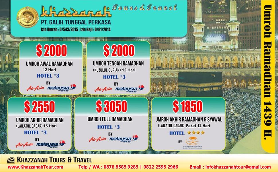 Khazzanah Tours umroh ramadhan