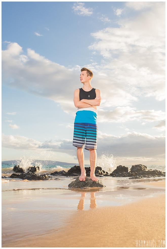 Senior Portrait in Maui