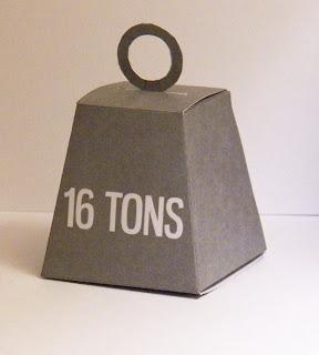 Monty Python 16 Ton Weight Gift Box