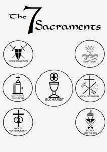 7 Sakramen Dalam Gereja Katolik Cahaya Kristus