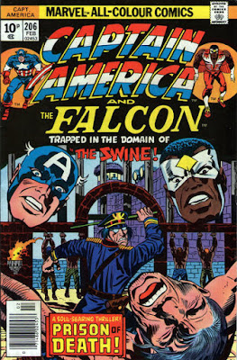 Captain America and the Falcon #206, the Swine