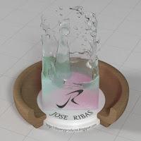 Material Blender Agua