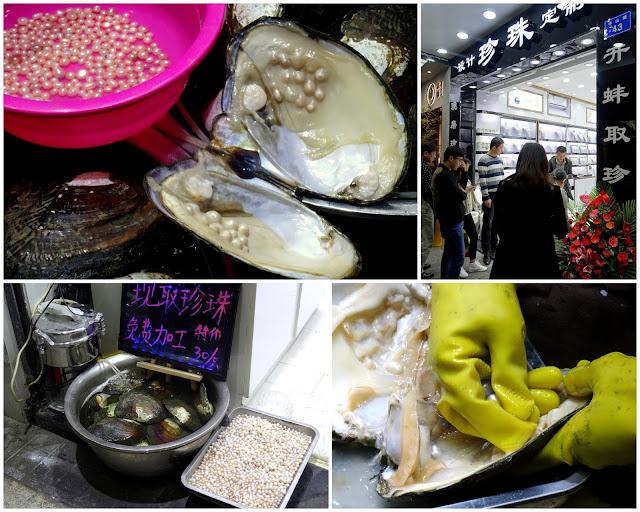 Oyster Peark Zhongshan Lu Pedestrian Street in Xiamen, China