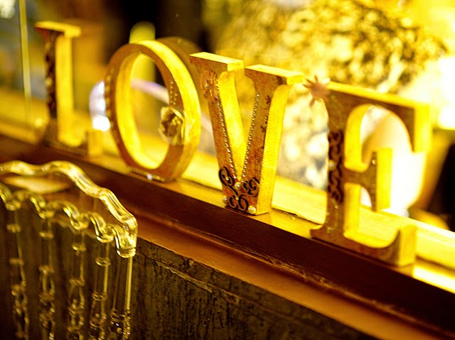 Decoração Letras LOVE - Mini Wedding / Casamento