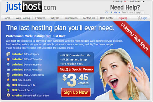 JustHost Hosting Server Compromised, More than 1000's of websites at Risk !