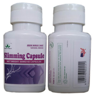 slimming capsule asli green world