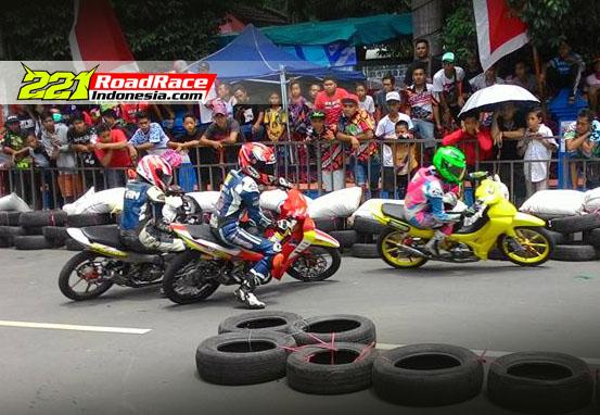 Hasil Road Race HUT BOJONEGORO 2016, Ramai Meski Selisih 6 Jam Dari Road Race BATU