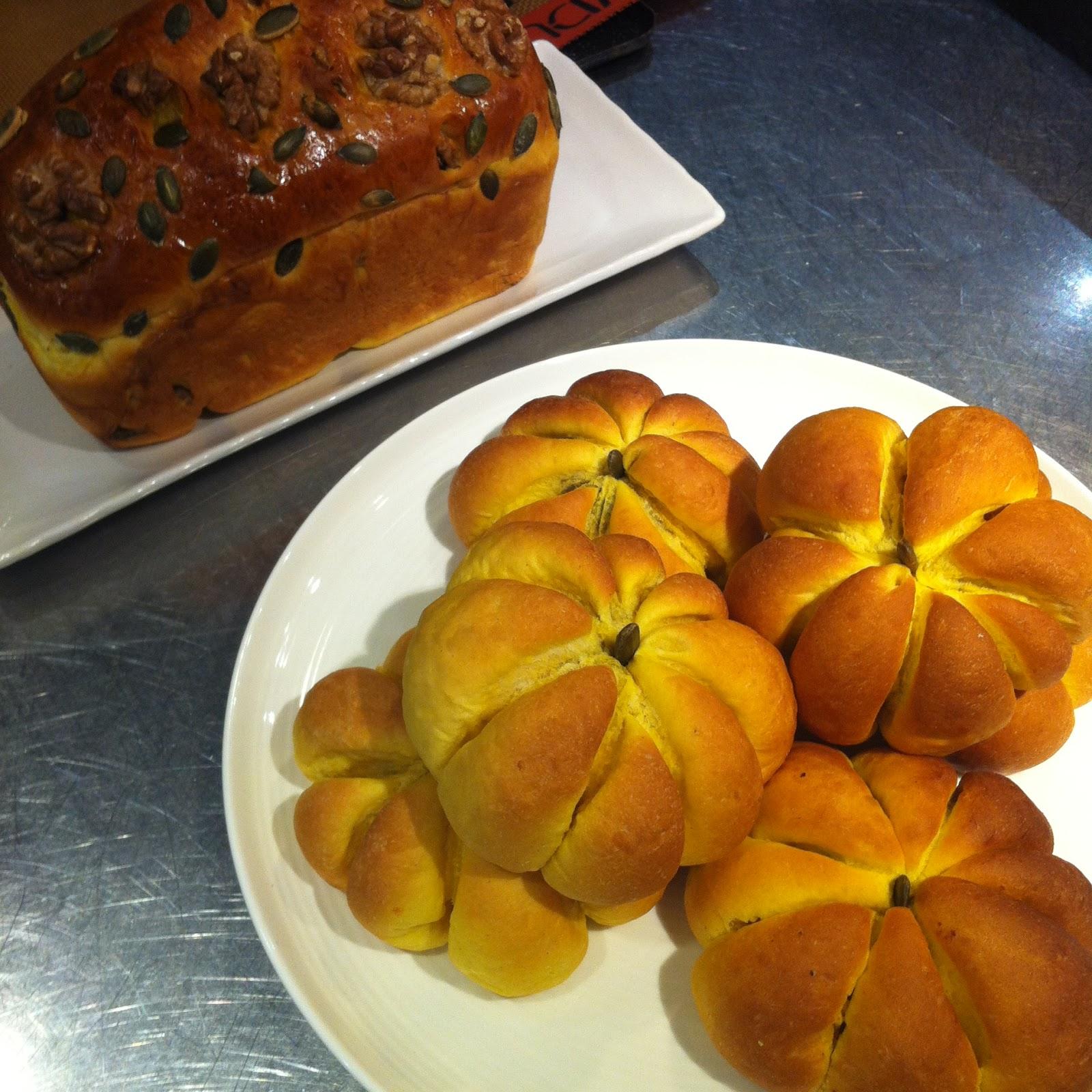 [kitb萌早餐] 煤氣烹飪中心 - 南瓜造型麵包 | 《早餐女皇之蔬食日常》