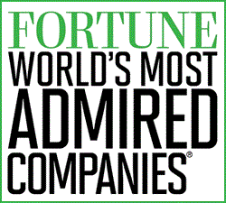 World's Most Admired Companies of 2013