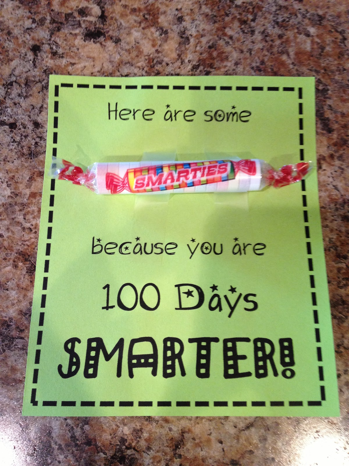 Teaching With Terhune 100th Day Activities