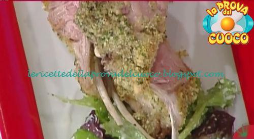 Carrè d'agnello con coriandolo ed insalata allo yogurt ricetta Gandola da Prova del Cuoco