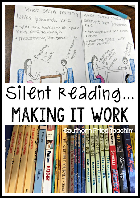 Silent reading....making it work!