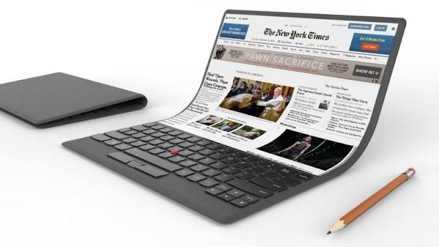 Samsung đang phát triển laptop với màn hình uốn dẻo, có thể gập lại
