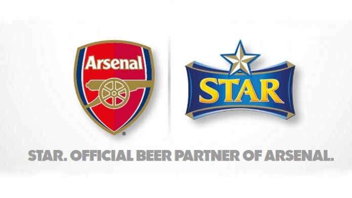 Star Beer becomes Arsenal partner in Nigeria
