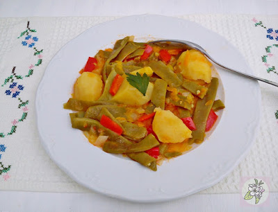 Judías Verdes y Patatas Guisadas a lo Clásico.