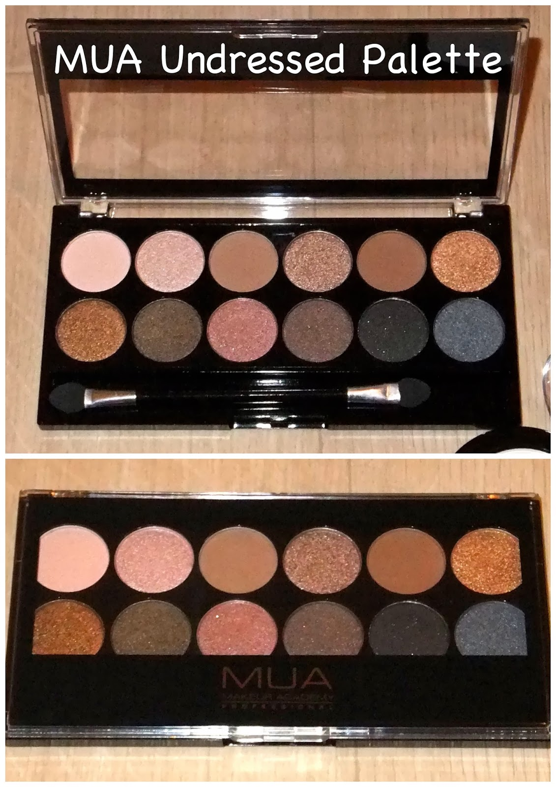 Review Mua Professional Eye Primer: The Make-up Family: Review: MUA Undressed Eyeshadow Palette