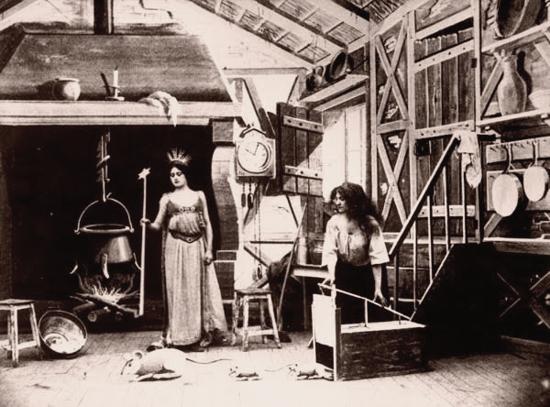 Cendrillon (Cinderella), 1899 - first scene