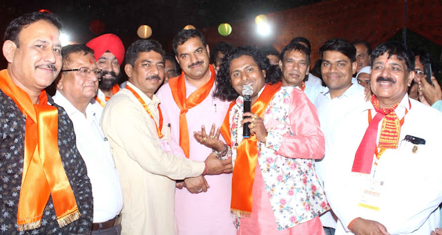Organizing Indian New Year by Baba Balakshand Ji Promotions Committee Faridabad at Punjabi Bhawan