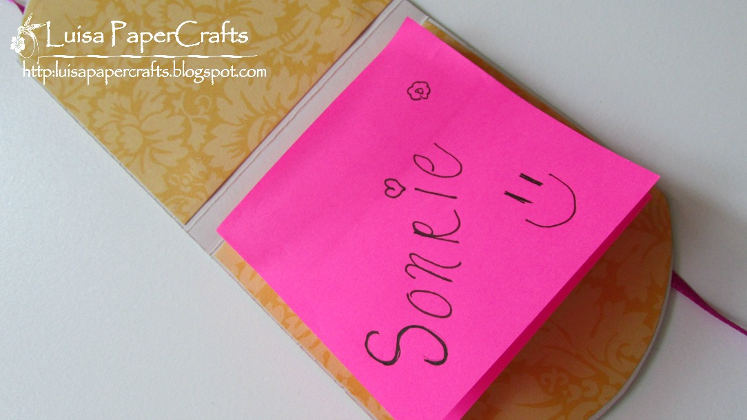 abbastanza Luisa PaperCrafts: Porta Notas Post-It YN43